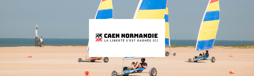 FRANCE : CAMPAGNE JEUNESSE - CAEN LA MER