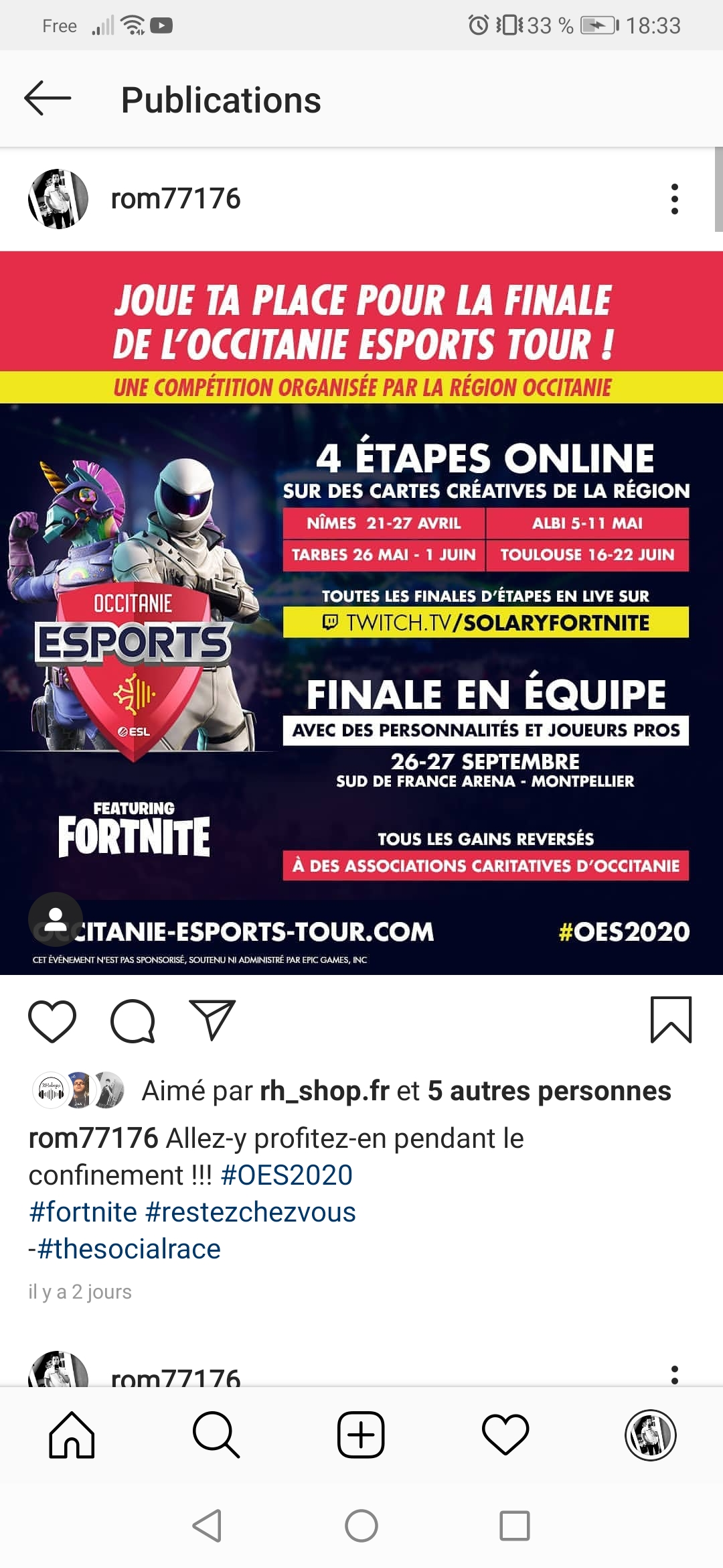 #OES202 Annonce qualification :  Nîmes