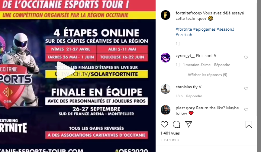 Occitanie E-sports Tour Online