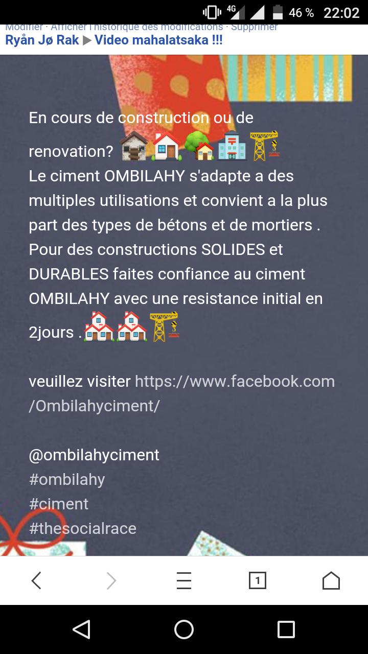Ciment Ombilahy