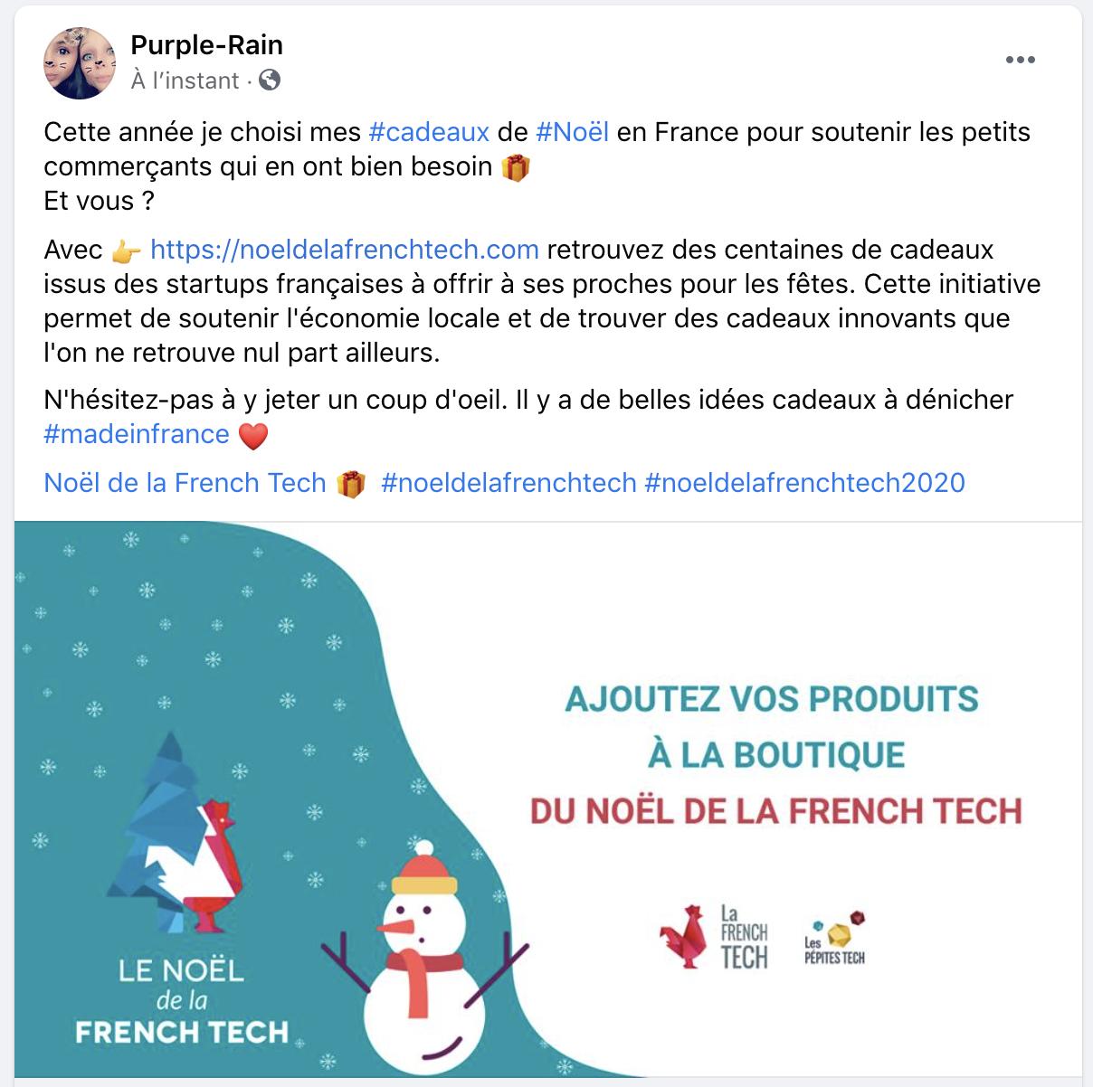 Noël de la French Tech