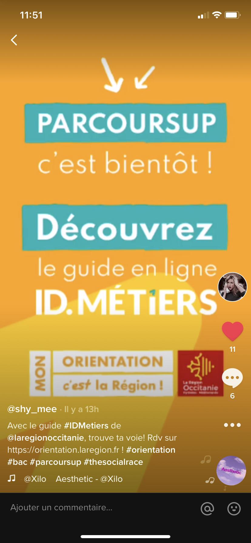 Orientation Parcoursup La Région Occitanie
