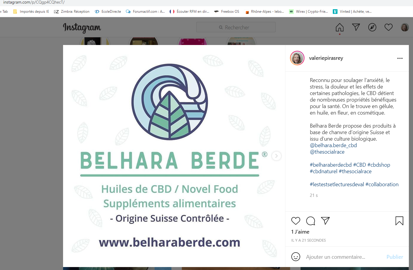 Promotion de la marque Belhara Berde