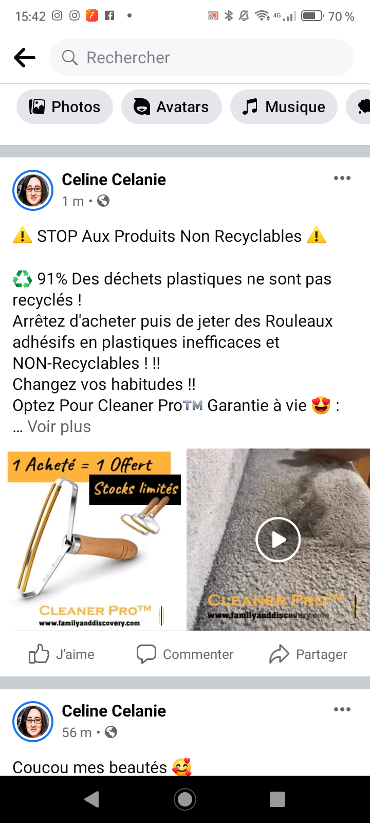 Promotion du Cleaner Pro Family and Discovery