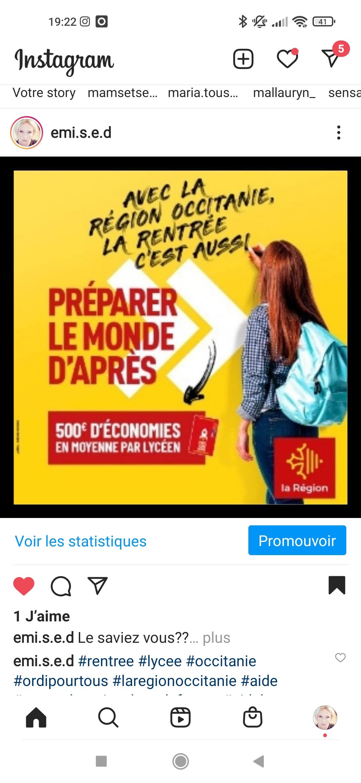 La rentrée la moins chère de France La Région Occitanie