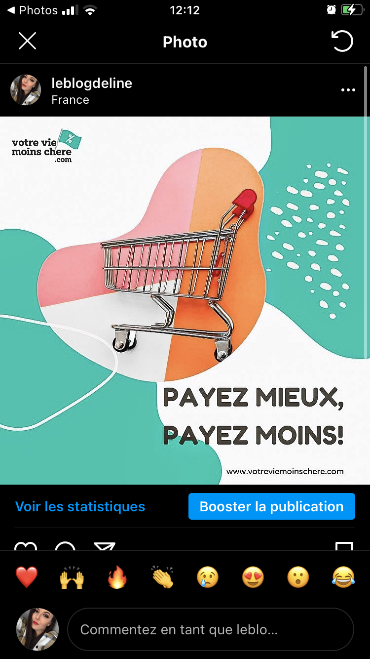 Promotion du site  Votreviemoinschere.com