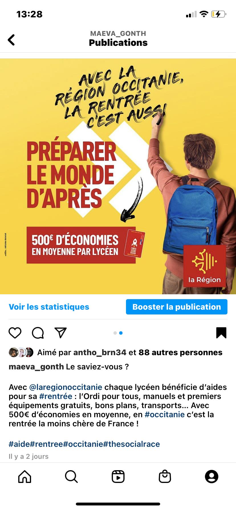 FRANCE : La rentrée la moins chère de France La Région Occitanie
