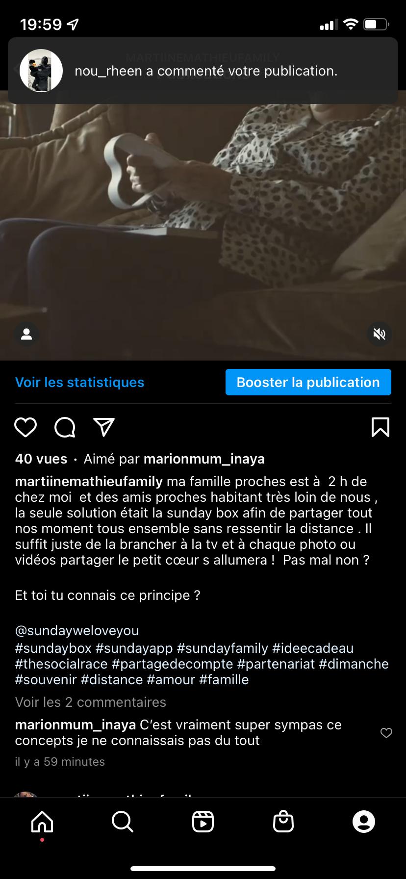 FRANCE: Promotion Sunday Box